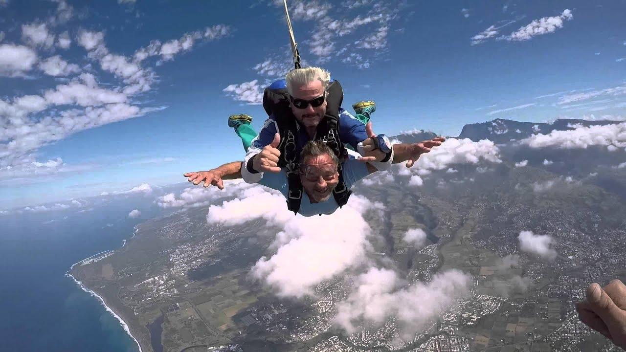 saut en parachute 974