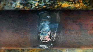 Сварка труб встык - самый простой способ(Друзья, сварка труб встык является, пожалуй, наиболее распространенным способом соединения элементов труб..., 2016-07-06T10:59:45.000Z)