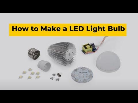 How to Make a LED Light Bulb