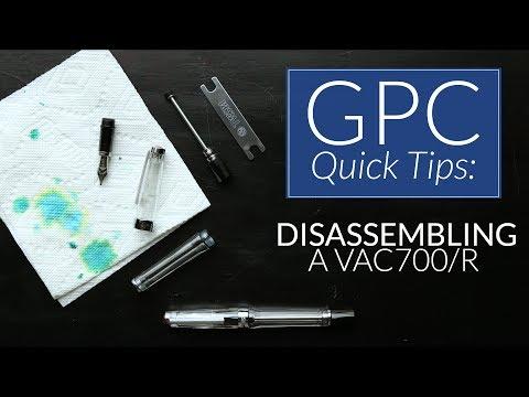 Disassembling a Vac700/R - GPC Quick Tips
