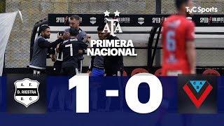 Deportivo Riestra 1 VS. Brown (A) 0 | Fecha 10 | Primera Nacional 2019/2020