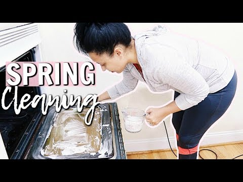 ULTIMATE SPRING CLEAN WITH ME 2018 | CLEANING & ORGANIZING THE KITCHEN | Page Danielle