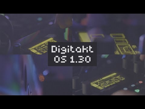 OS Upgrade 1.30 For Digitakt: Even More Sound-shaping Features