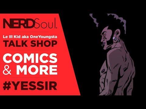 Saxton Moore Interview: Papa Cherry Graphic Novel, Pixel Pirate Studio, Galactus & More! | NERDSoul