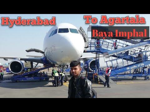 Rajib Gandhi International Airport #hyderabad to #Agartala 🔥🔥🔥30-12-18
