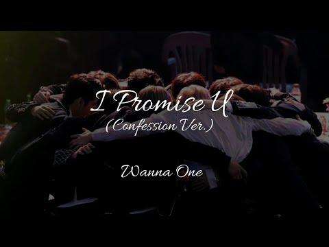Wanna One - I Promise U (Propose Ver) Han/Rom/Eng Lyrics 워너원 약속해요 고백 Ver. 가사