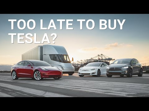 Is it Too Late to Buy a Tesla?