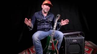 Supro Blues King 1x12 Tube Amp Debut by Ford Thurston playing a 1963 Gibson ES-335