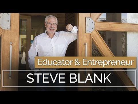 Steve Blank on Disruption and Lean Startups | Nordic Business Report