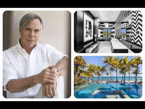 ★ Tour Tommy Hilfiger's Florida Mansion | HD