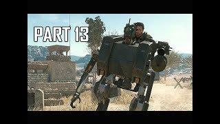 METAL GEAR SURVIVE Walkthrough Part 13 - Walker (PS4 Pro 4K Let's Play)
