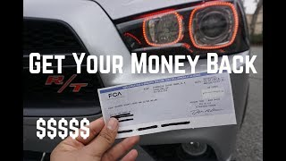 Dodge Sent me a Check for a Recall !!!