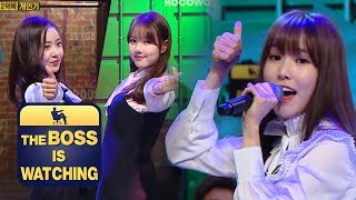 """""""Love Battery""""(Hong Jin Young) Cover by GFriend [The Boss is Watching]"""