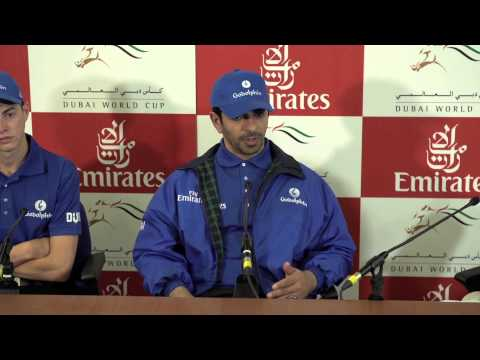 Interview with trainer Saeed bin Suroor and jockey James Doyle