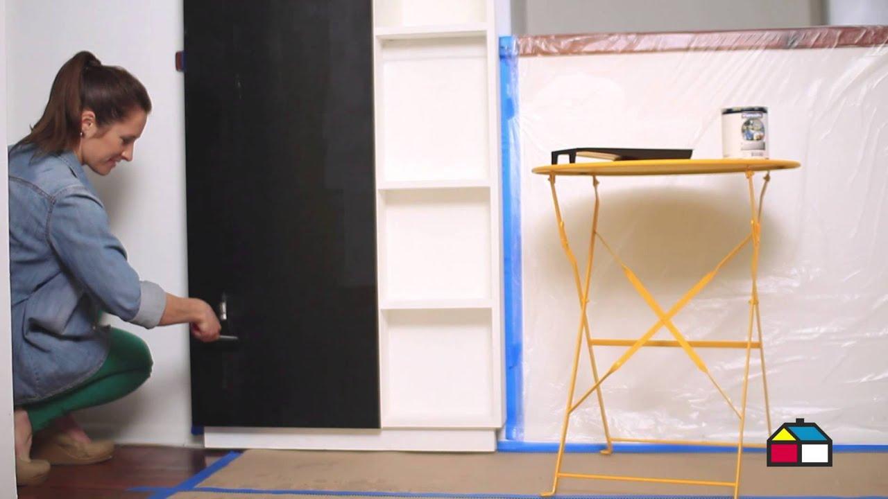 Insp rate pinta una pizarra en la cocina youtube - Pizarra para cocina ...