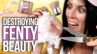Cutting Open a FENTY BEAUTY Fairy Bomb?! (Beauty Break)