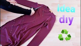 Dar Gelen Tuniklerin Geri Dönüşümü/DIY/recycle/İDEA/super recycle from old clothes