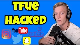 Tfue Hacked On All Social Media Accounts.  (UPDATE)
