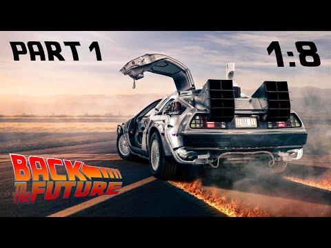 Сборка DeLorean DMC-12 Back To The Future 1:8 от Eaglemoss. Part 1.