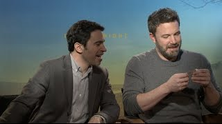 LIVE BY NIGHT interview - Ben Affleck, Chris Messina - Good Will Hunting, Batman, Casey Affleck