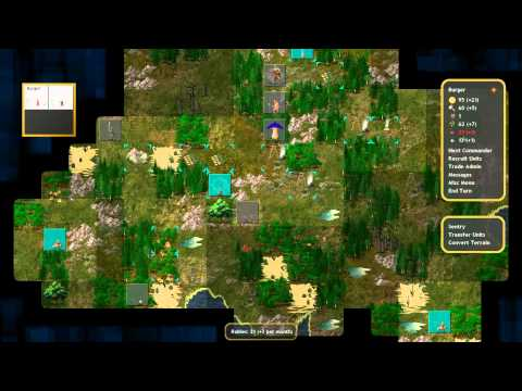 Conquest of Elysium 3 – Bergmeister Class (Turn-based Fantasy Strategy)