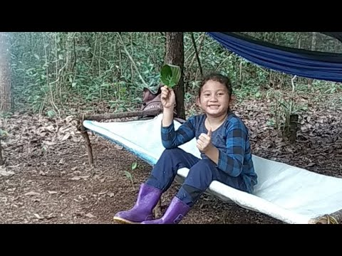 #bushcraftindonesia #bushcraftcamping          Bushcraft Indonesia Camping Is Relaxing In The Forest