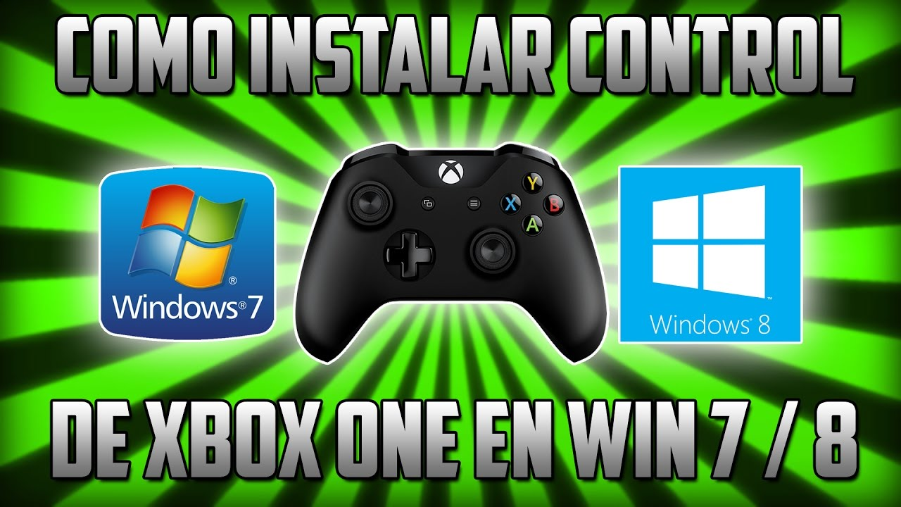 Tutorial | How to install Xbox One controller in Windows 7 / 8 without  Windows Update