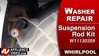 Whirlpool Washer - Out of balance - Suspension Rod kit - Diagnostic & Repair