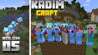 Kadimcraft 1: Bölüm 5 - BÜYÜK SAVAŞ ve TOPLU MACERA !!
