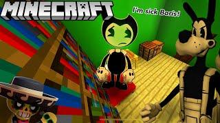 Download BENDY GETS SICK! (BATIM Minecraft) Mp3 and Videos