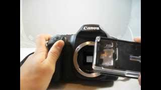 Canon EF-S Focusing Screen for 40D, 50D, & 60D Review/Instalation/Comparison to EF-A