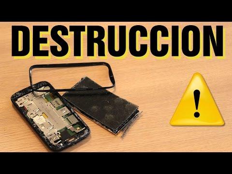 Test de DESTRUCCIÓN - nuevo Moto E 2015