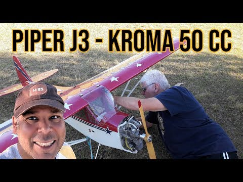 Piper J3 do Antônio - Voo Inaugural