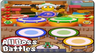 Mario Party DS All Bosses