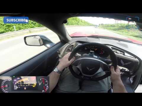 POV AUTOBAHN Corvette C7 Z06 2016 By BBM | 702 HP | CAPRISTO Exhaust | FAST & LOUD!!