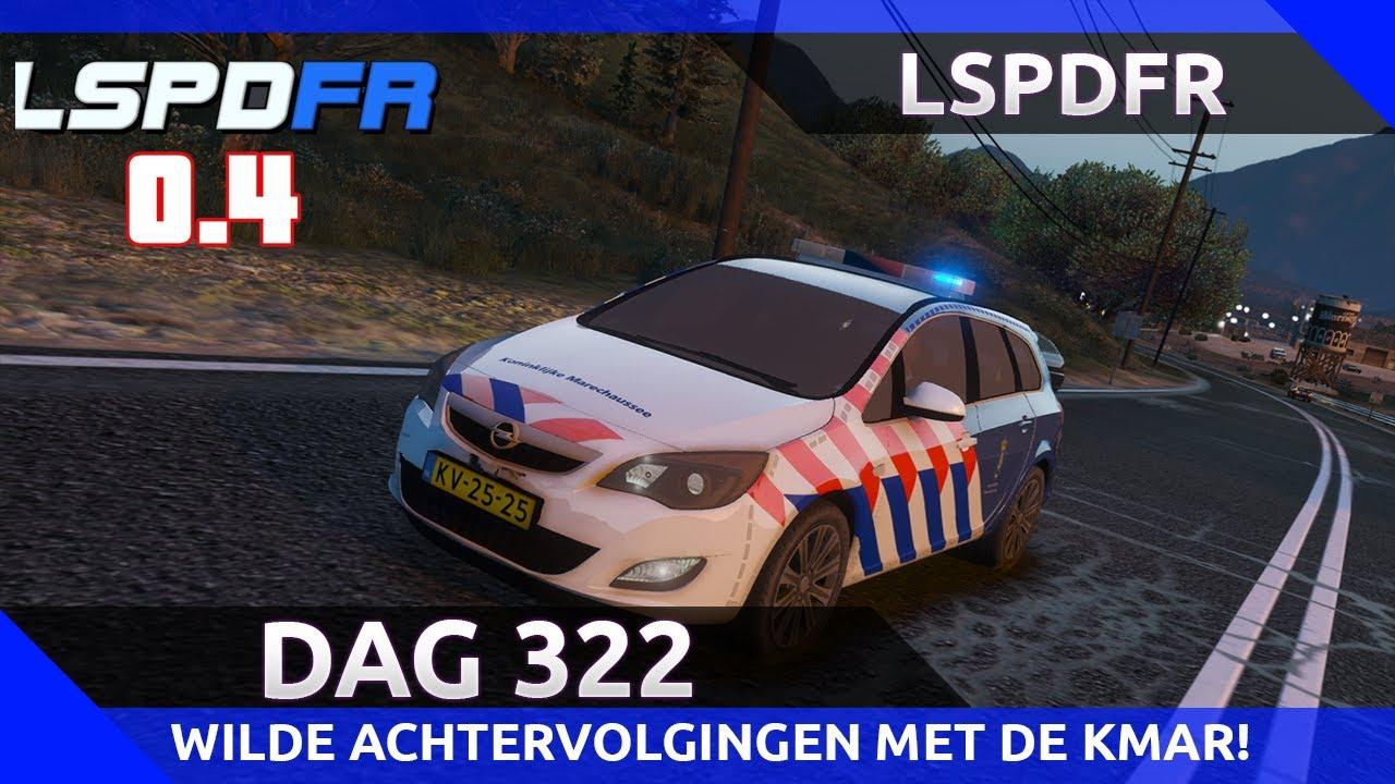 GTA 5 lspdfr dag 322 - Wilde achtervolgingen met de KMAR!