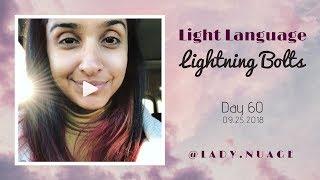 Light Language - Lady Nuage - Lightning Bolt #60