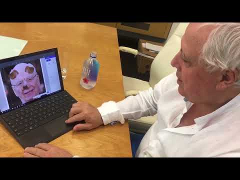 Clive Palmer Shows How He Makes His Memes