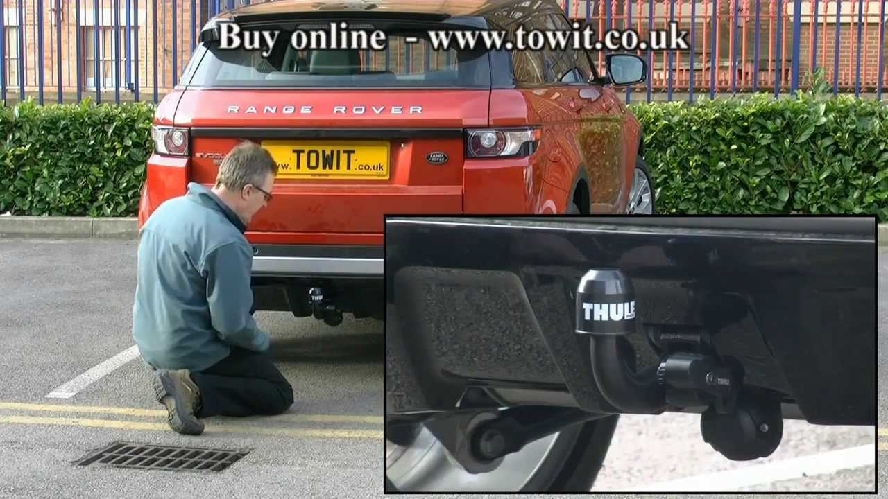Towbar Land Rover Discovery 3 4 Range Rover Sport Thule Brink Detachable