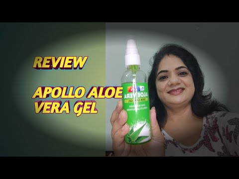 Aloevera Apollo Best Packing Pump Packing Review Skin Care Gel Daily Use Nancy The Makeup Artist Youtube