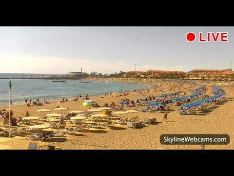 Live Webcam from Playa Las Vistas - Tenerife