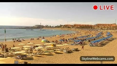 Live Webcam from Playa Las Vistas - Tenerife