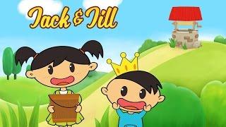 Jack and Jill | Nursery Rhyme with Lyrics | Nursery Rhymes for Kids by Luke & Mary
