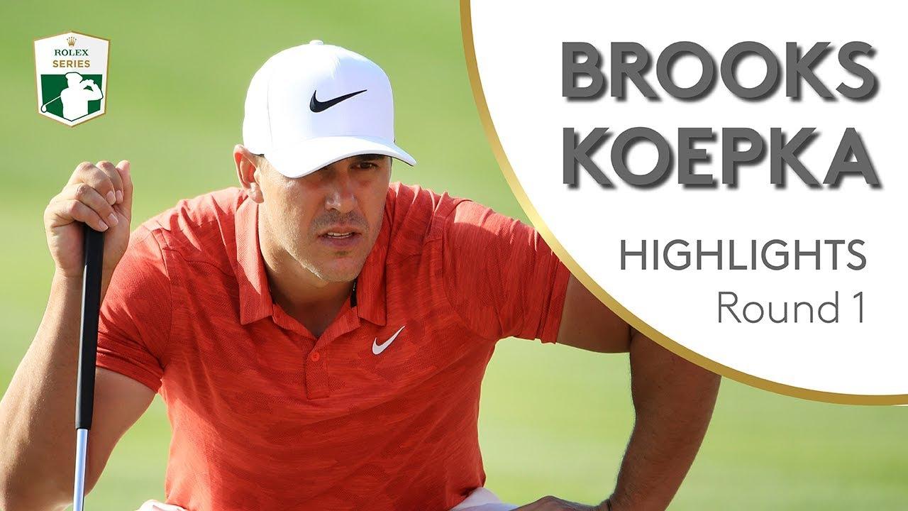 00c47471f Brooks Koepka Highlights | Round 1 | 2019 Abu Dhabi HSBC Championship