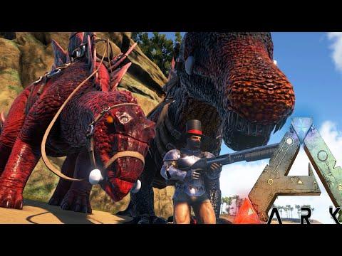Ark Survival Evolved - DRAGON KILLING, ALPHA STEGO TAMING - Modded Survival Ep58 (Ark Gameplay)