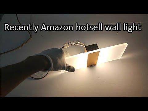 Amazon hotsell Acrylic modern wall light lamp