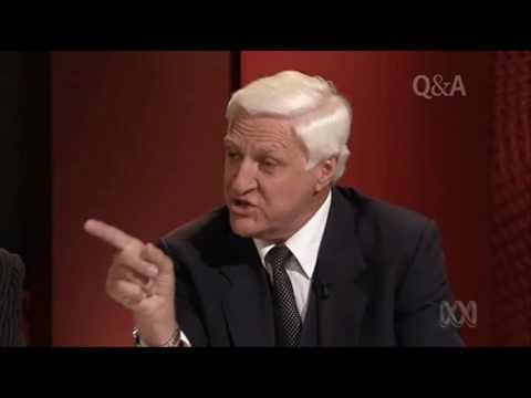 Bob Katter on ABC's Q&A - Part 1 of 3 (qanda - 06/09/2010)