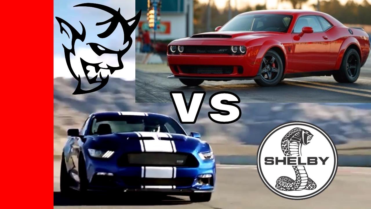 750HP Shelby Super Snake vs 840HP Dodge Demon Exhaust ...