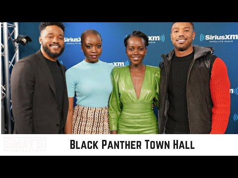 The Cast of Black Panther Talk: Black Excellence, Feminism, White Audience, and more