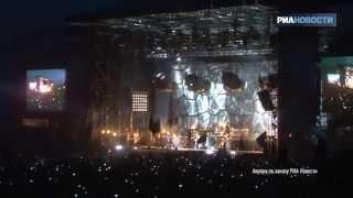 Rammstein на фестивале Рок над Волгой
